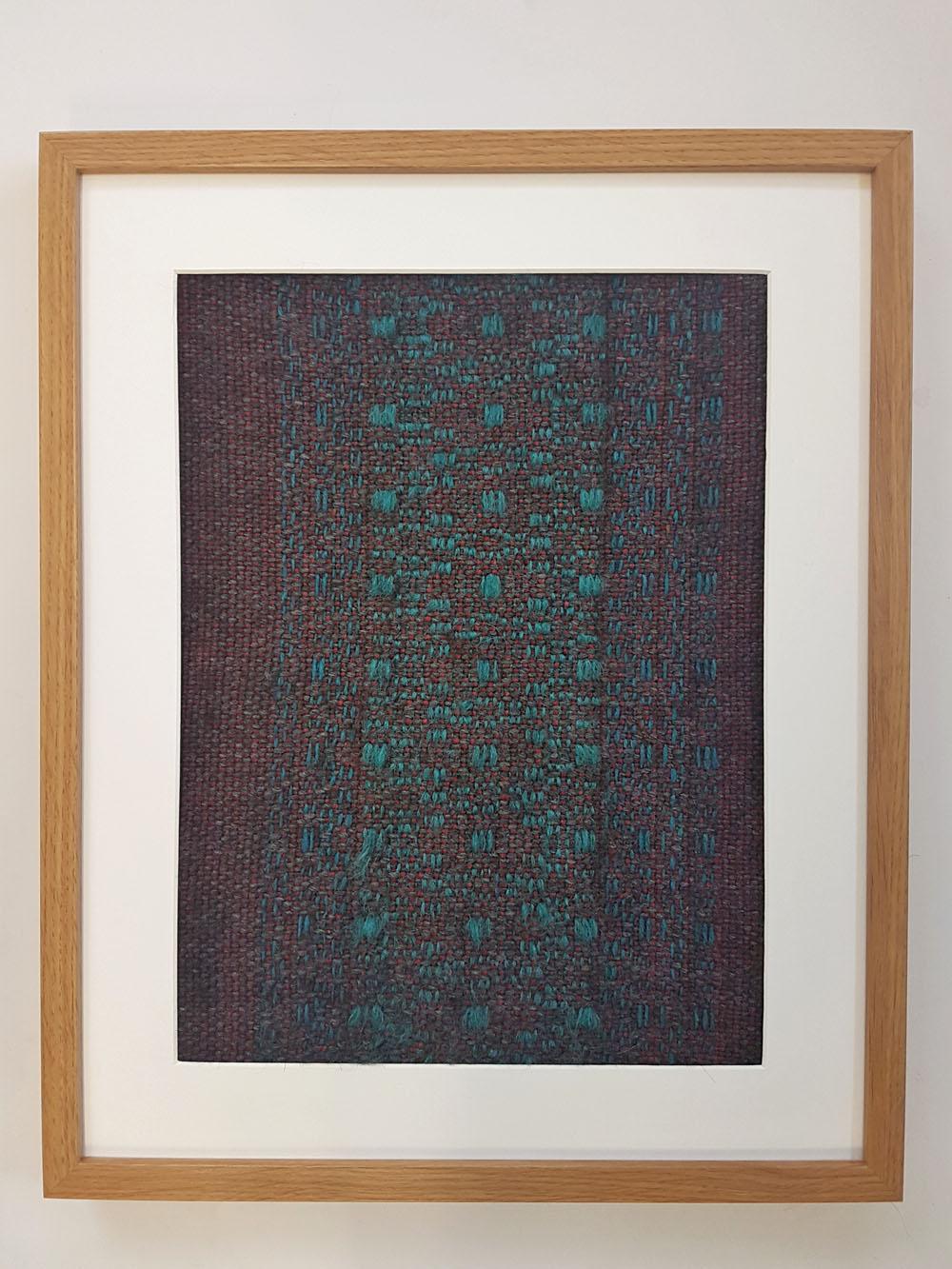 Large framed weave